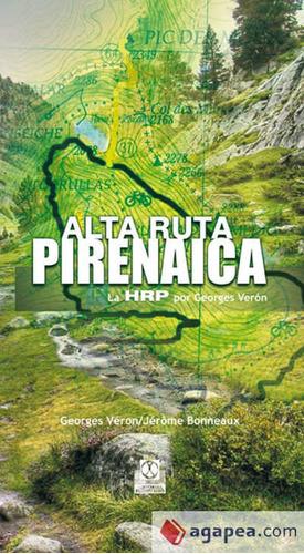 alta ruta pirenaica. la hrp por georges véron (cartoné y col