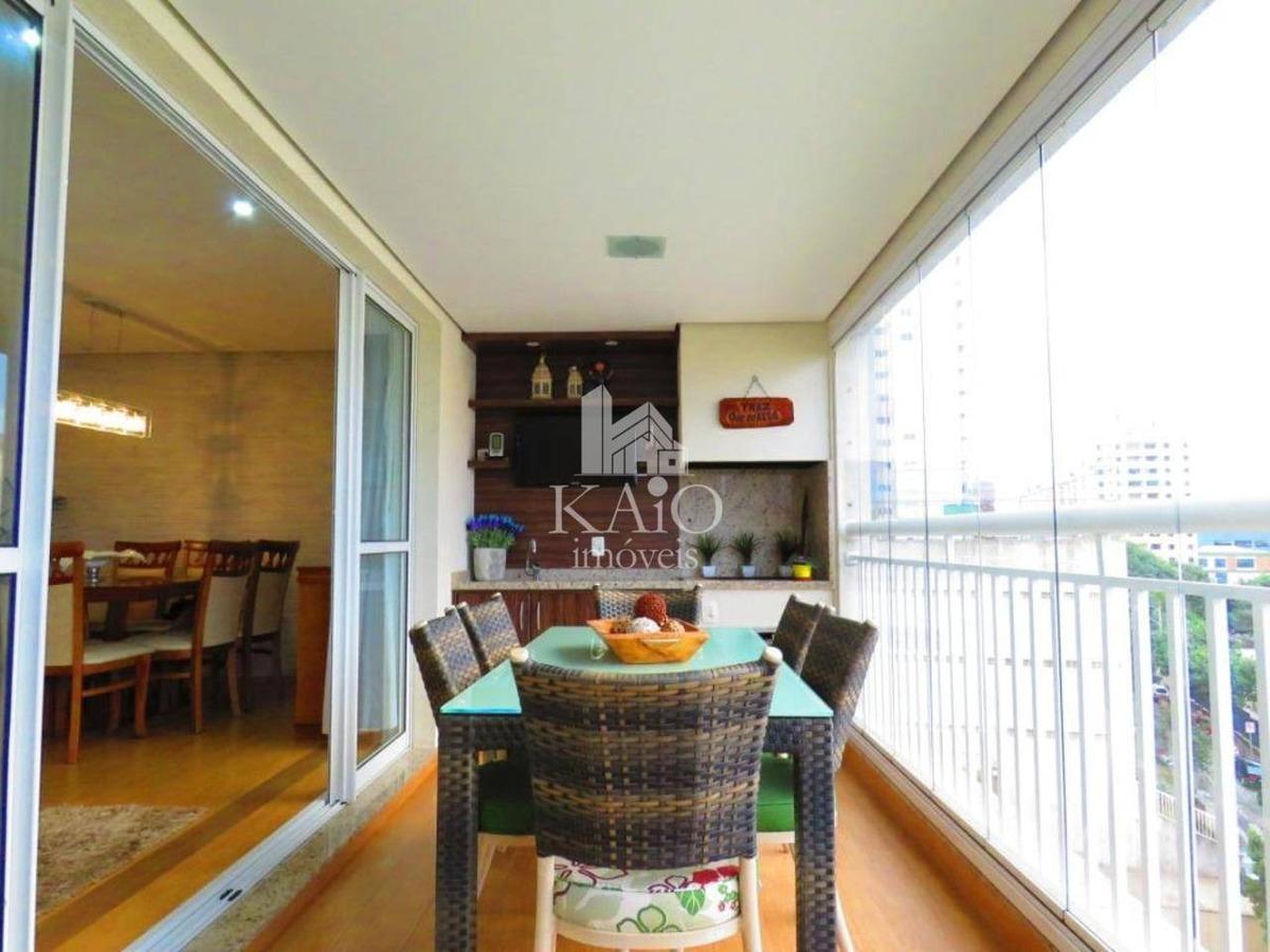 alta vista guarulhos 132m² 3 suites varanda gourmet, 2 vagas
