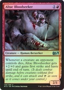 altac bloodseeker magic 2015 core set (foil)