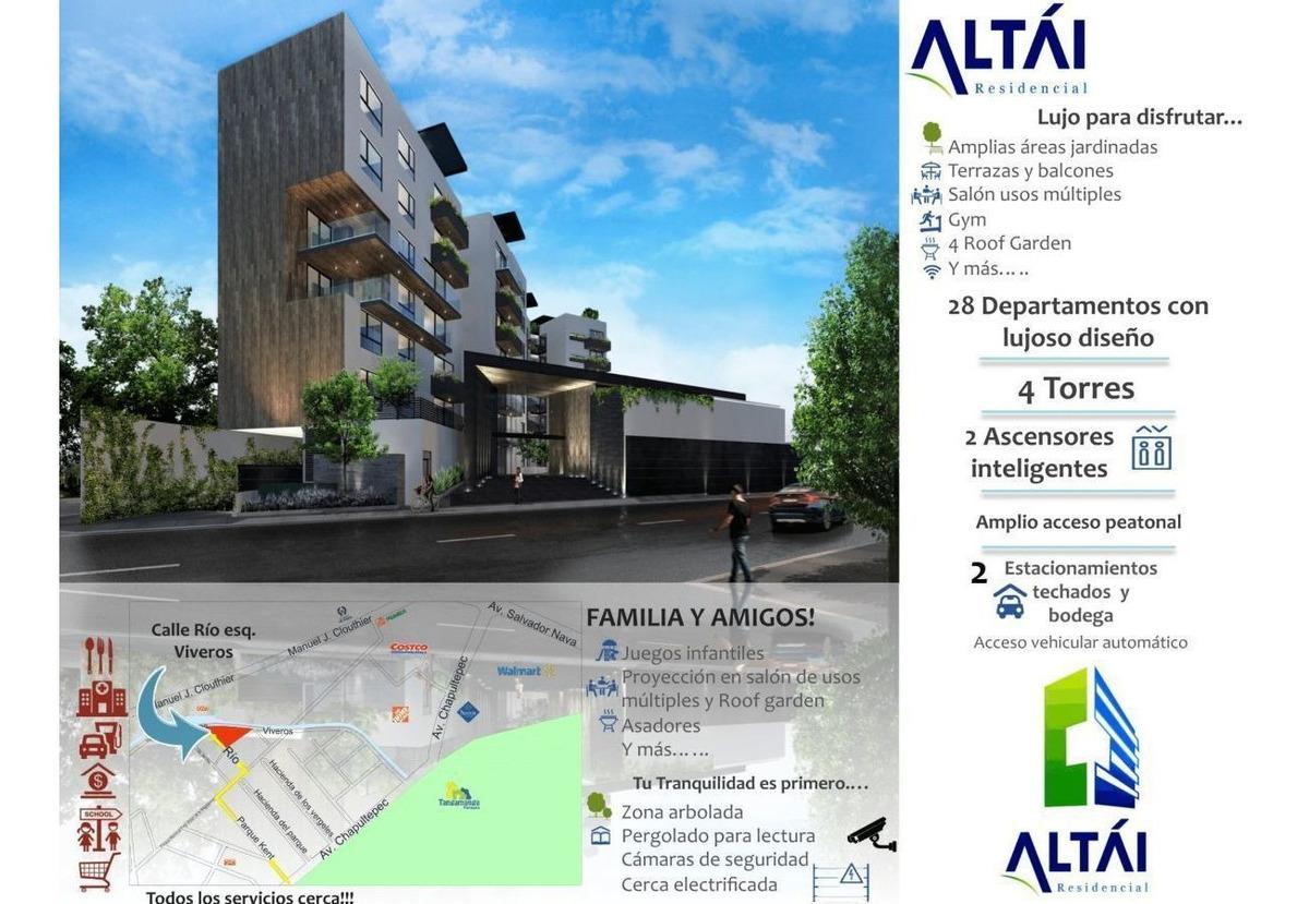 altai: departamento en venta chapultepec | tipo 5