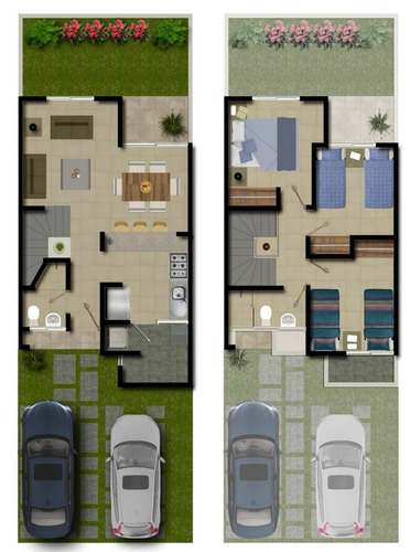 altaira residencial, modelo atria, fraccionamiento zakia.