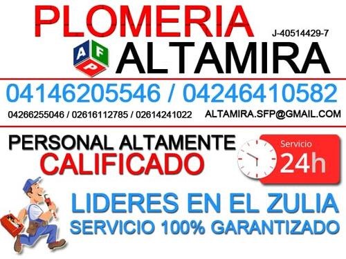 altamira servicios de plomería, maracaibo - zulia 0414620554
