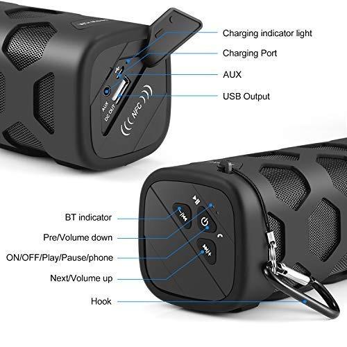 altavoces bluetooth altavoz portatil a prueba de agua, irrom