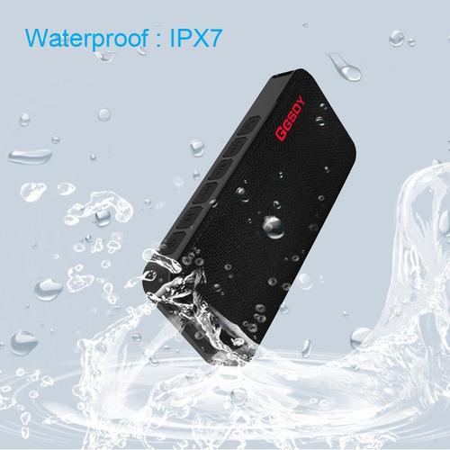 altavoces bluetooth, altavoz portátil hapyia con ipx7 resist