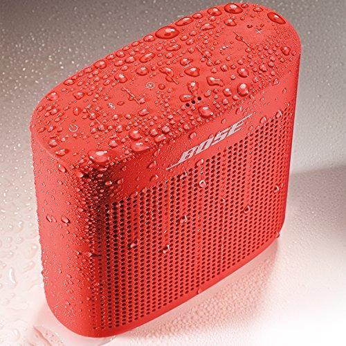 altavoz bluetooth bose soundlink color ii - rojo coral