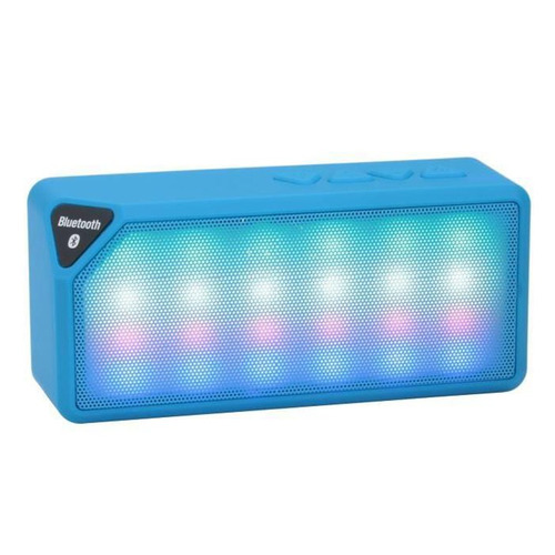 altavoz bluetooth manos libres x3s (radio, usb, micro sd)