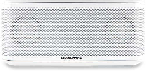 altavoz bluetooth micro monster clarityhd blanco 133265