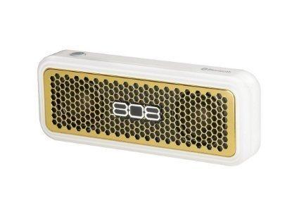 altavoz bluetooth portátil 808 audio xs - dorado