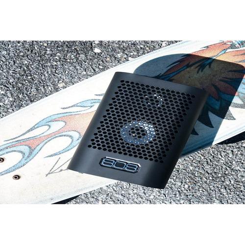altavoz bluetooth portátil,808 hexagonal a tl negro