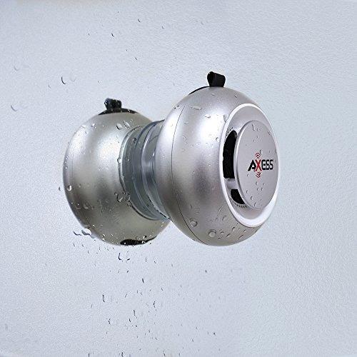 altavoz bluetooth resistente al agua axess spbw1048 ipx4 con