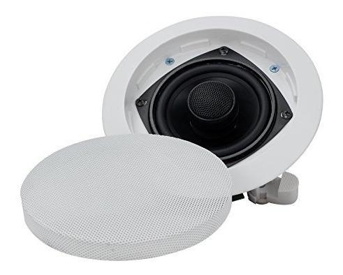 altavoz de sonido estéreo de 2 vías empotrable en la pare