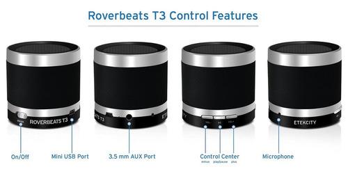 altavoz etekcity® roverbeats t3 ultra portátil inalámbrico