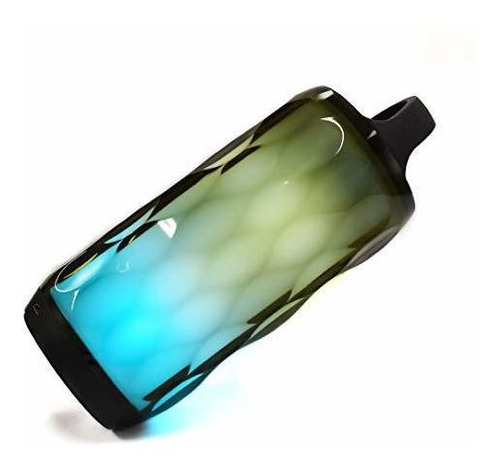 altavoz inalambrico axess spbl1095 bluetooth crystal led alt