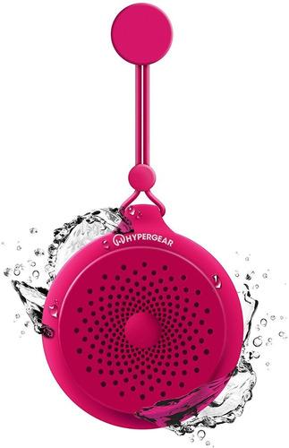 altavoz inalambrico hypergear splash - fucsia