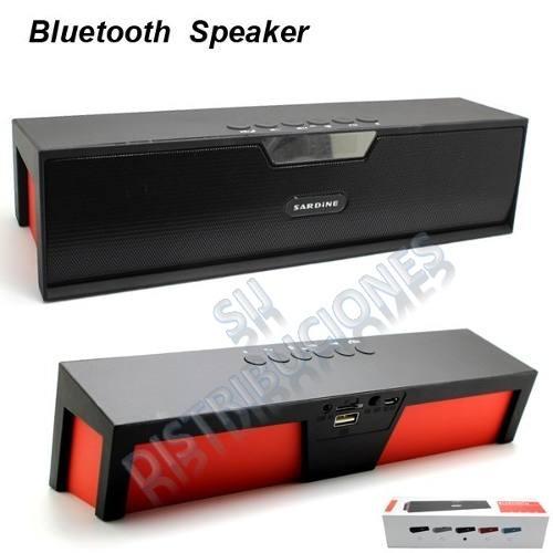 altavoz parlante bluetooth portable potentes 10w microfono