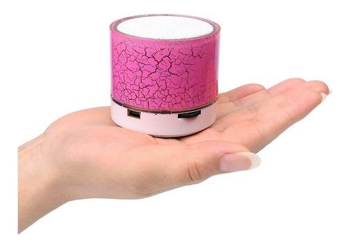altavoz parlante portatil music mini craquelado recargable