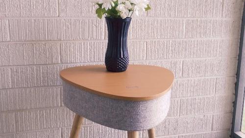 altavoz portatil bluetooth con mesa lateral inteligente con