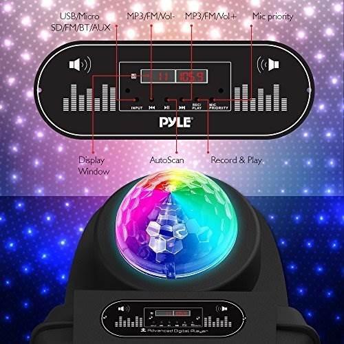 altavoz portátil para karaoke dj karaoke - estéreo exterior