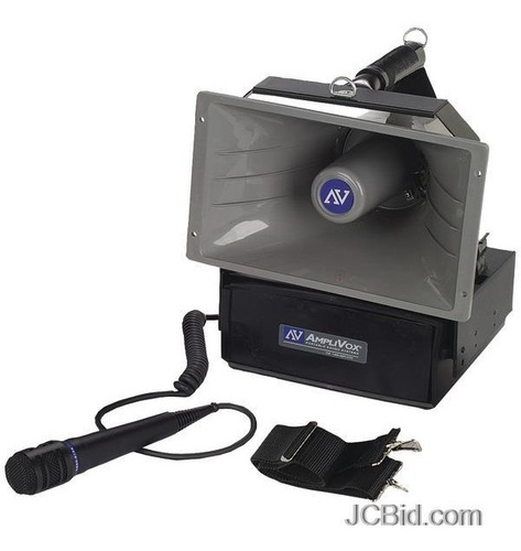 altavoz profesional inalámbrico megafono amplivox sw610a