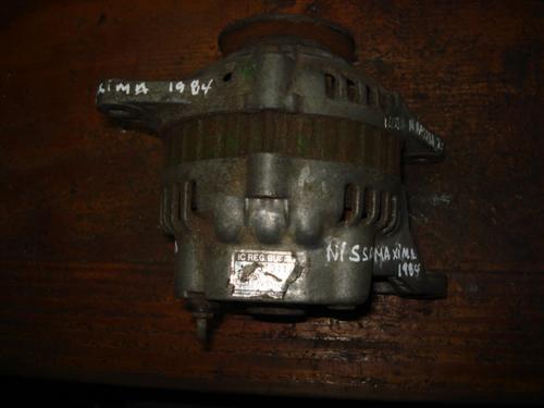 alternador de nissan maxima 1984