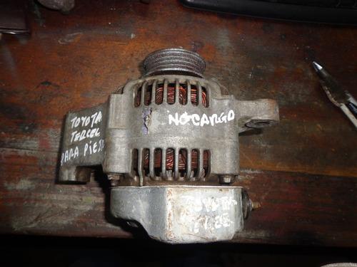 alternador de toyota tercel para piezas no carga