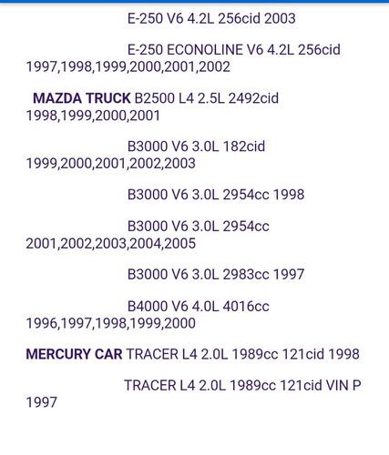 alternador ford f250, f350, mazda,mercury