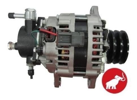 alternador isuzu npr 24 voltios triple polea