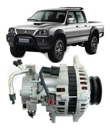 alternador l200 gls gl sport pajero sport 2.5 diesel hpe 75a