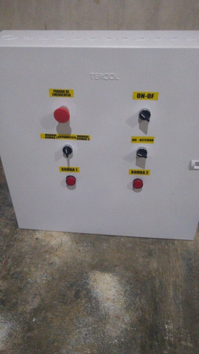 alternador para 2 electrobombas trifacicas