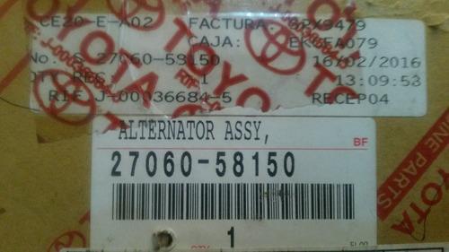 alternador toyota coaster 2003 al 2008 100% original