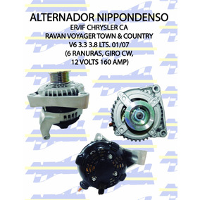 07 town and country alternator