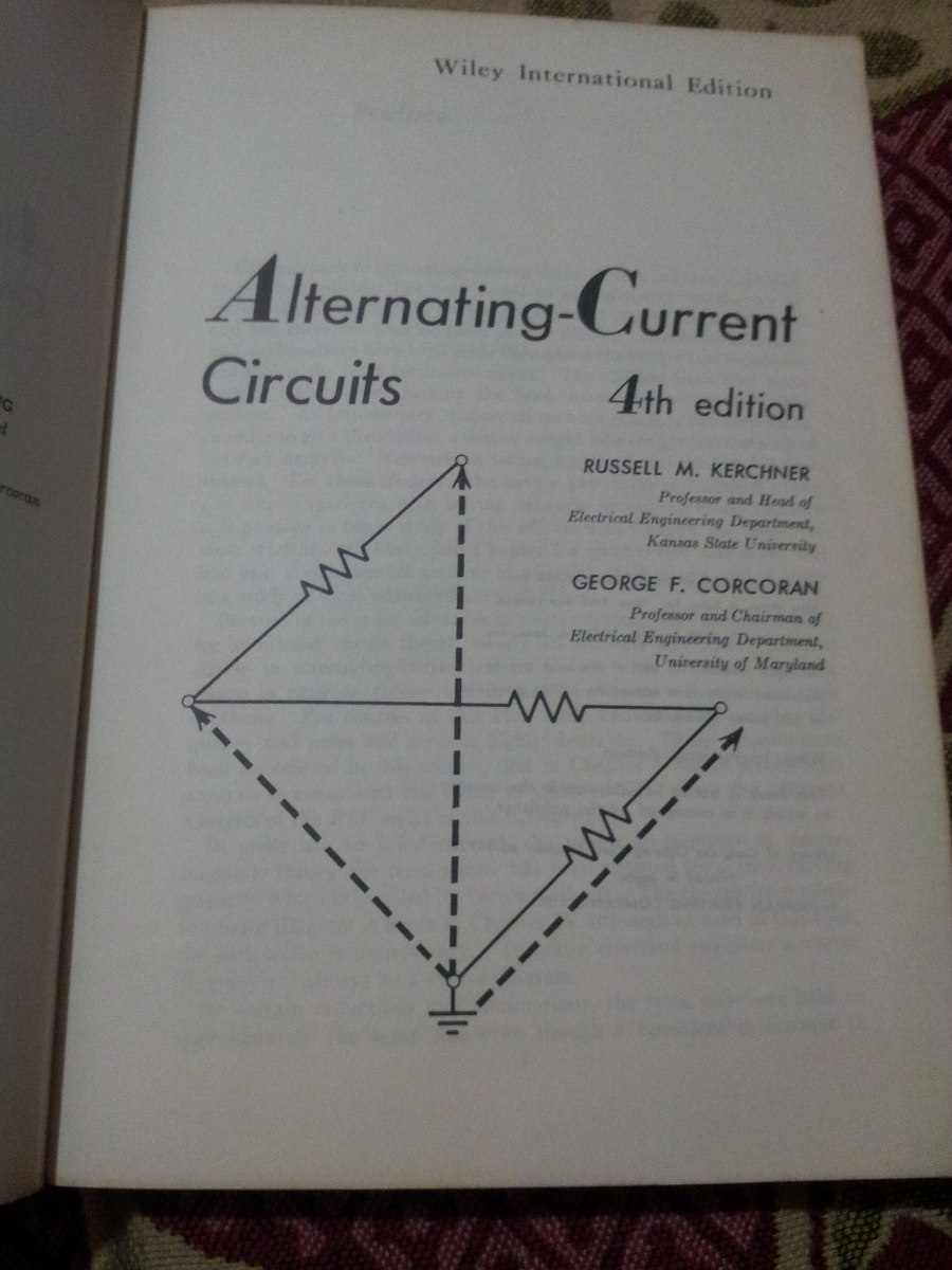 Alternating Current Circuits By Kerchner And Corcoran Ebook Download Diagram These