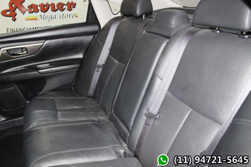 altima sl 2.5 v6 aut 2014 preto financiamento próprio 9004