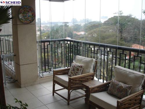 alto boa vista, 186m, 3 dorm, 3 suites, 4 wc, sala 2 amb, 3 vagas, lazer compl excelente localização - mc1655
