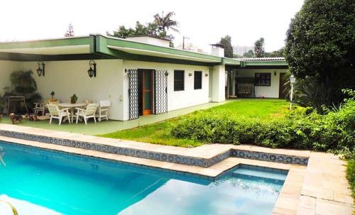alto da boa vista casa térrea com piscina e amplo jardim - 375-im142630