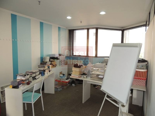 alto do tatuapé - salas / conjunto comercial com 189 m² uteis , 06 banheiros + copa + 03 vagas - 1031