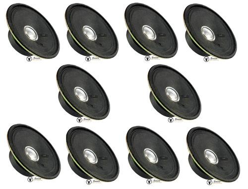 alto falante 3 polegadas redondo 5w 6ohms  kit 10 unidades