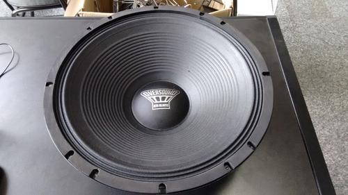 alto falante de 15 polegadas oversound e550w 15