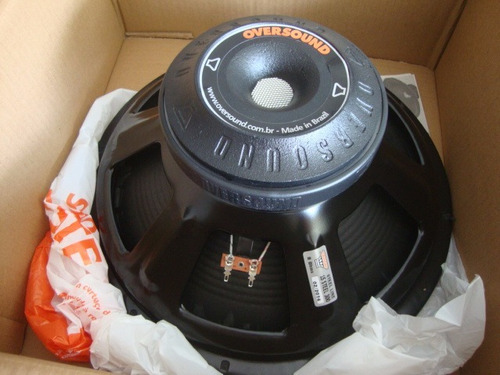 alto-falante oversound 15 steel 300 - 8 ohms