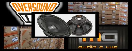 alto-falante oversound 550w/15 - 8 ohms novo com nota fiscal