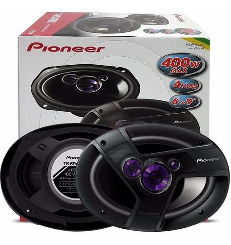 alto falante pioneer 6x9 quadriaxial 400w max par - ts6941br