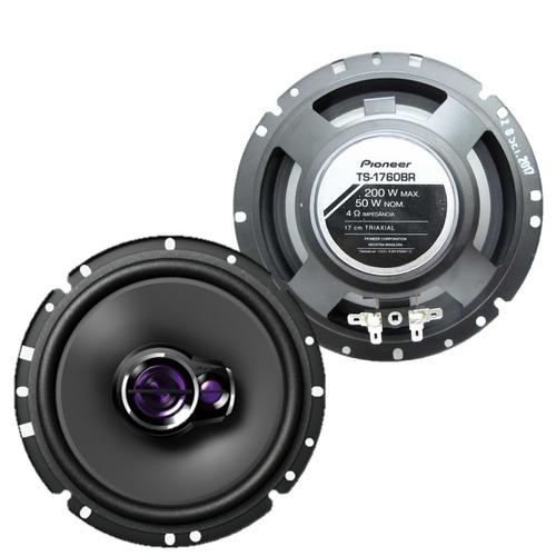 alto falante pioneer triaxial 3 vias 50w rms 6 polegadas par