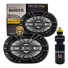 Alto Falante Quadriaxial 6x9 Bravox B4x69d 300w Rms + Brinde