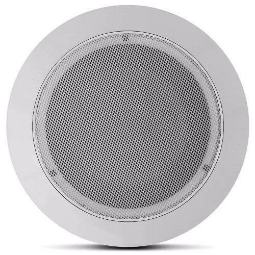 alto falante redondo som ambiente tsr orion arandela teto