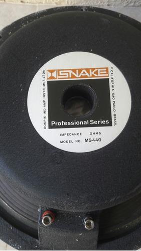 alto falante snake 15  ms440 profissuonal 8 ohms