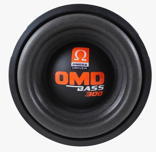 alto falante subwoofer omega driver omd bass 8 pol 300 rms