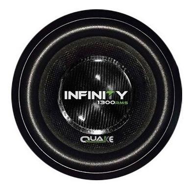 alto falante subwoofer quake infinity 1.300rms 15 polegadas
