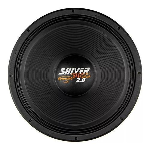 alto falante triton 15 pol 1900w rms shiver bass 3.8 full