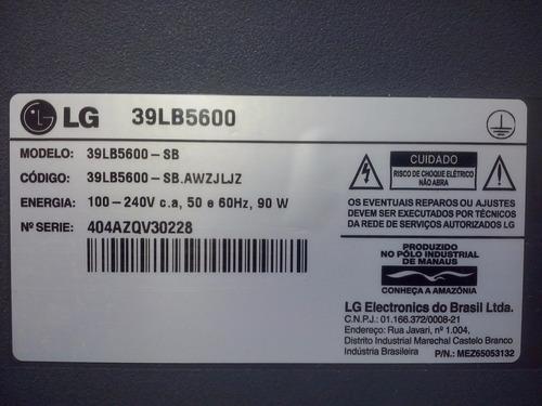 alto falante tv lg 39lb5600.