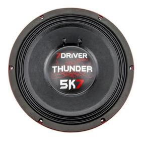 Alto Falante Woofer 7 Driver Thunder 5k7 2850w Rms 12 Polega